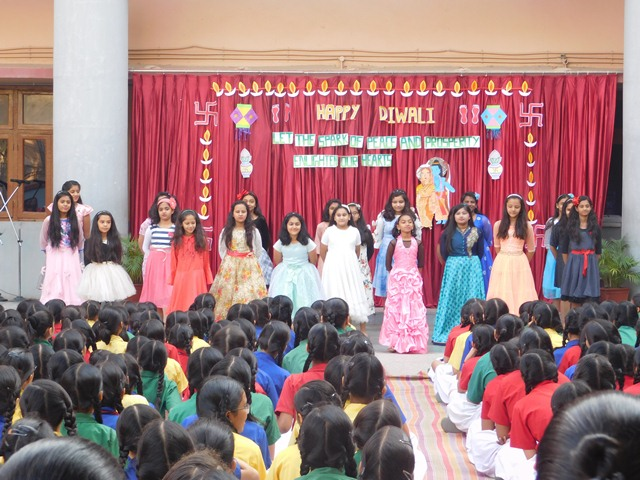 Diwali Celebration - Mount Carmel High School